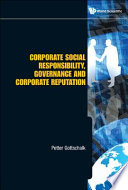 Corporate Social Responsibility  Governance and Corporate Reputation
