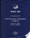 Proceedings of the 2nd European Simulation Congress  Sept  9 12  1986  The Park Hotel  Antwerp  Belgium