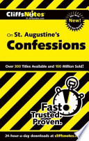 CliffsNotes On St  Augustine s Confessions