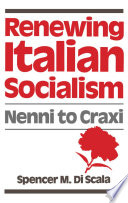 Renewing Italian Socialism