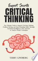 Expert Secrets Critical Thinking