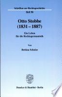 Otto Stobbe (1831-1887)