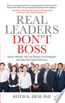 Real Leaders Don t Boss