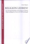 Religion lehren?