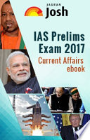 Ias Prelims 2017 Current Affairs Ebook