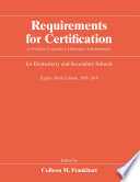 Requirements For Certification Of Teachers Counselors Librarians Administrators For Elementary And Secondary Schools 2018 2019