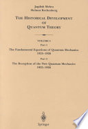 The Historical Development Of Quantum Theory book