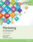 Marketing  An Introduction  Global Edition