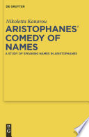 Aristophanes  Comedy of Names