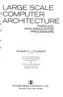 Large Scale Computer Architecture Book PDF