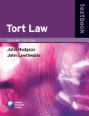 Tort Law Textbook