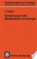Einführung in die Medizinische Soziologie