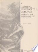 Pasqual Pere Moles i Corones