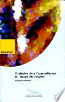 Stratégies dans l'apprentissage et l'usage des langues