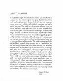 A Little Ramble Of Robert Walser