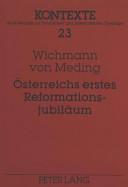 Österreichs erstes Reformationsjubiläum