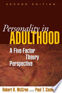 Personality in Adulthood  Second Edition