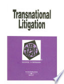 Transnational Litigation In a Nutshell