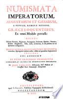 Numismata Imperatorum  Augustarum et C  sarum    populis Roman   ditionis  Gr  c   loquentibus ex omni modulo percussa