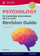 Psychology for Cambridge International AS and a Level Revision Guide 2nd Edition