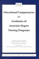 Educational Competencies for Graduates of Associate Degree Nursing Programs