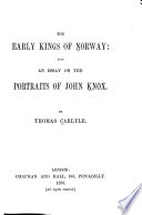 The Early Kings of Norway