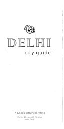 Good Earth Delhi city guide