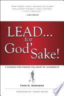 Book Lead       for God s Sake