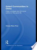 download ebook gated communities in china pdf epub