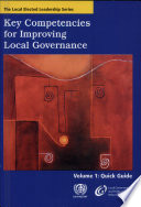 Key Competencies for Improving Local Governance  Quick guide