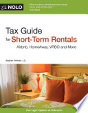 Tax Guide for Short Term Rentals