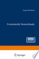 Forststatistik Deutschlands