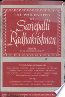 The Philosophy of Sarvepalli Radhakrishnan