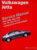 Volkswagen Jetta A5 Service Manual 2005 2008