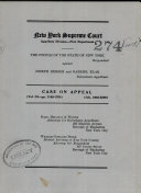 Surepeme Court Appellate Division- First Department Case On Appeal Vol. 3 - Pp.1149-1760 : ...