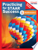 Time For Kids Practicing For Staar Success Mathematics Grade 5 Spanish Version