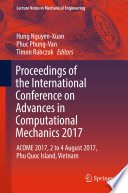 Proceedings of the International Conference on Advances in Computational Mechanics 2017