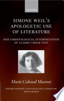 Simone Weil s Apologetic Use of Literature