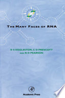 The Many Faces Of Rna book