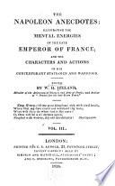 The Napoleon Anecdotes book