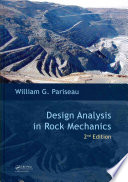 Design Analysis in Rock Mechanics  Second Edition