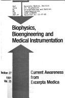 Excerpta medica  Section 27  Biophysics  bioengineering  and medical instrumentation