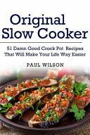 Original Slow Cooker