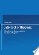 Data Book of Happiness
