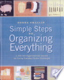 Simple Steps to Organizing Everything