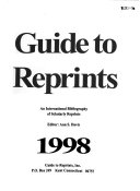 Book Guide to Reprints