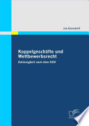 """Koppelgesch""""fte und Wettbewerbsrecht"""
