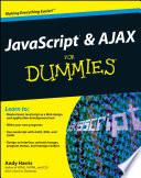 illustration JavaScript and AJAX For Dummies