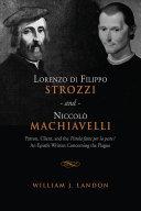 Lorenzo di Filippo Strozzi and Niccolo Machiavelli