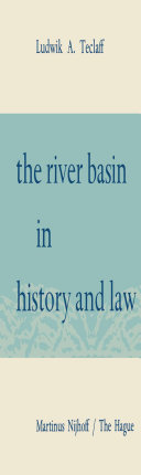 download ebook the river basin in history and law pdf epub